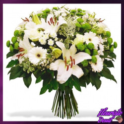 BOUQUET DEUIL COMPASSION CORSE