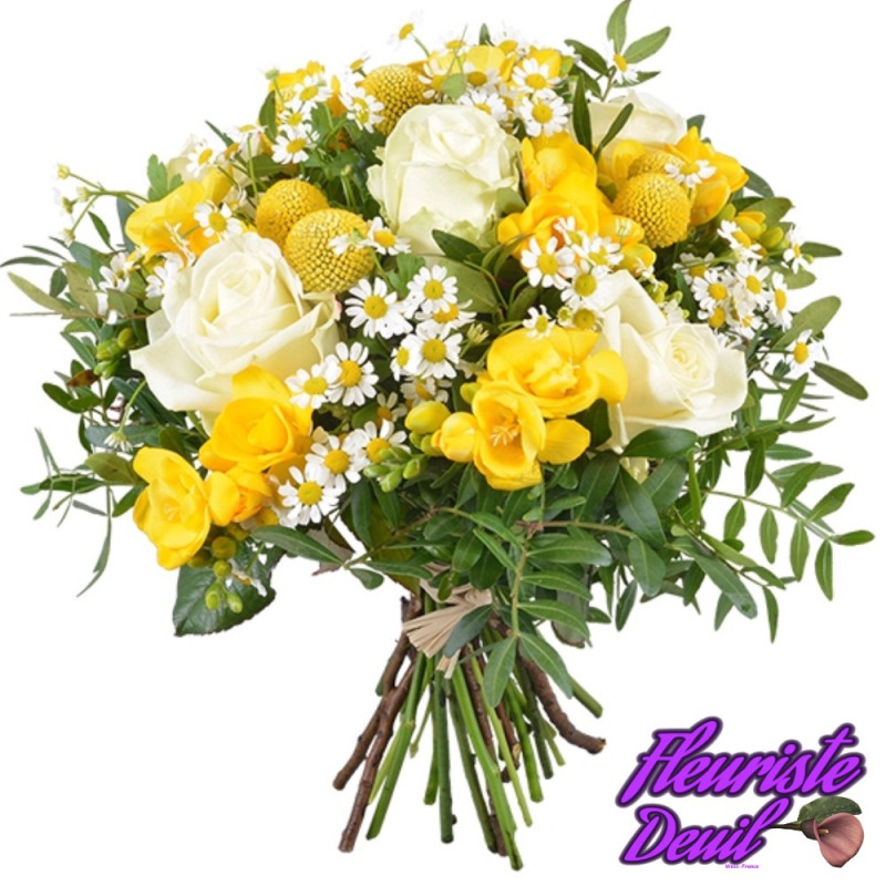 BOUQUET DE DEUIL SUNSHINE
