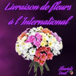 LIVRAISON FLEURS DEUIL A L'ETRANGER