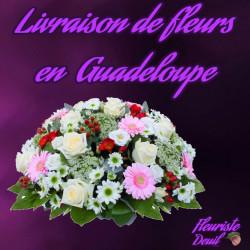 LIVRAISON DE FLEURS DEUIL EN GUADELOUPE