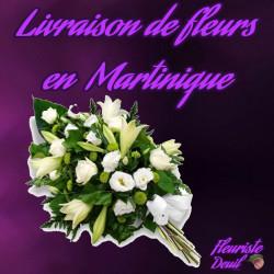 LIVRAISON DE FLEURS DEUIL EN MARTINIQUE